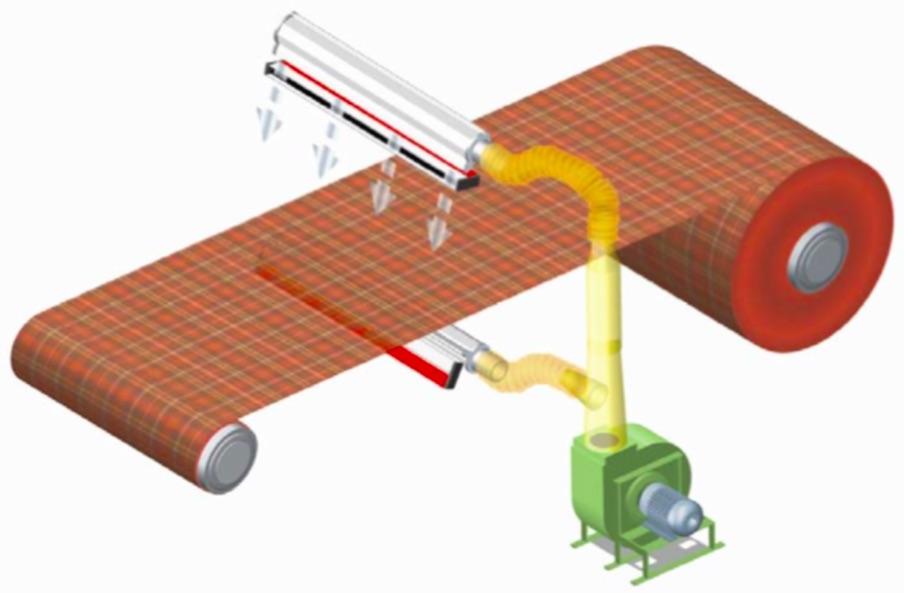 Cuchilla aire ionizado turbina ion 5500 for Eliminar electricidad estatica oficina